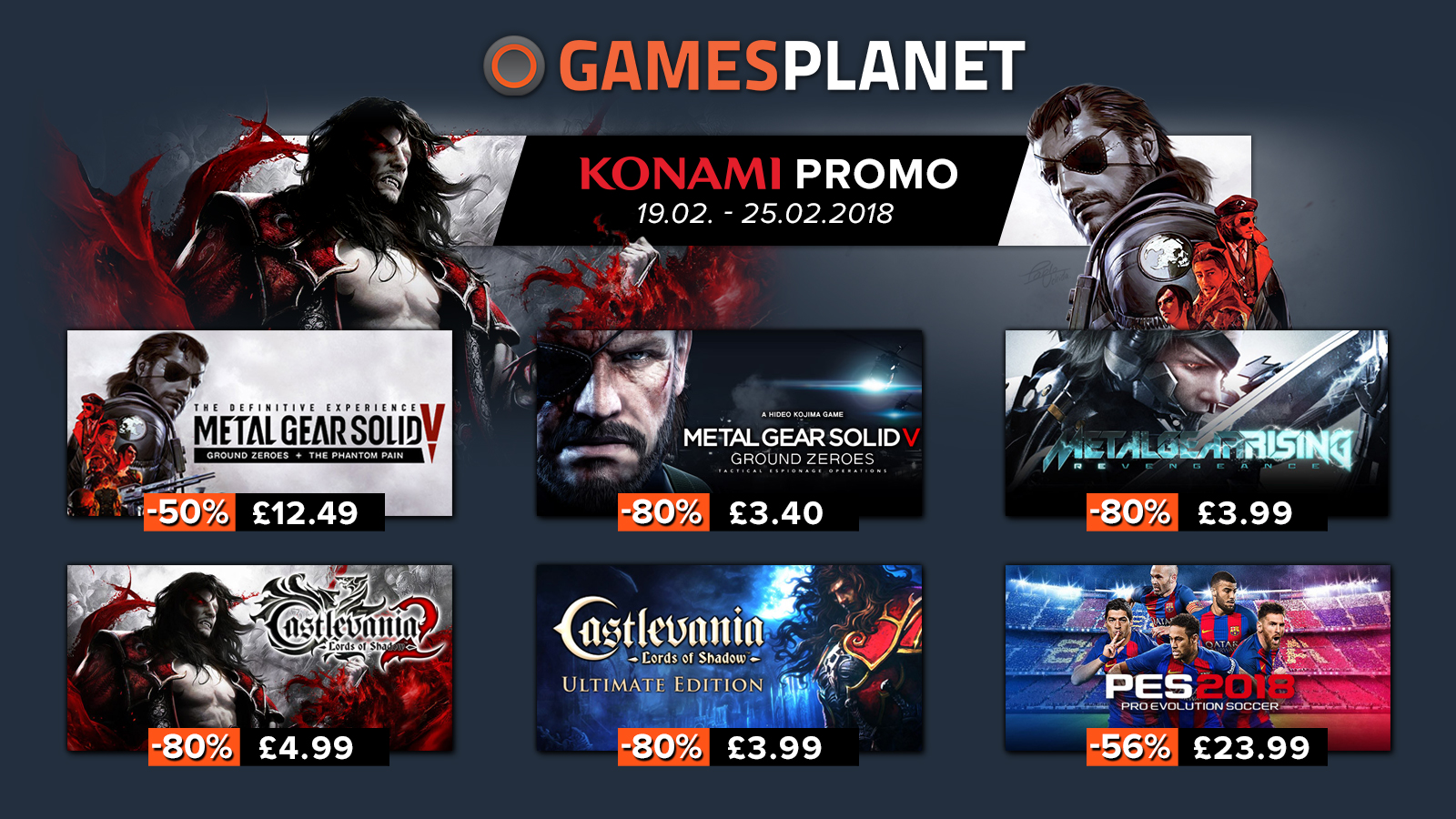 Konami games on sale, Steam redeemable, Steam alternatives