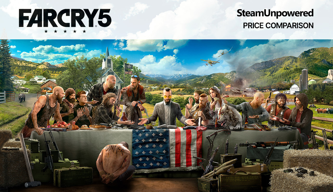 Far Cry 5 Price Comparison Steam Alternatives SteamUnpowered Prices Cheaper Than Steam Ubisoft Games