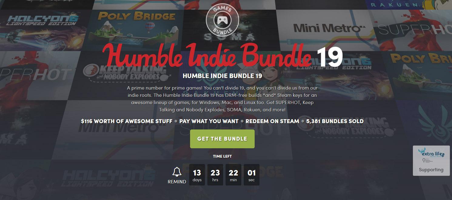 Humble Bundle Steam Alternatives