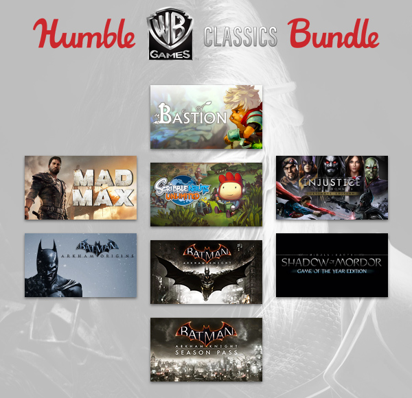 Humble Wb Games Classics Bundle Is Live Steamunpowered