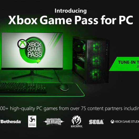 Xbox Game Pass coming to PC!