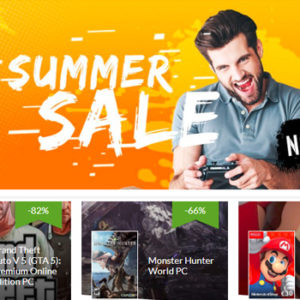 CDKeys.com: Summer Sale up to 90% off!