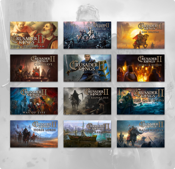 Humble Crusader Kings II Bundle now up!