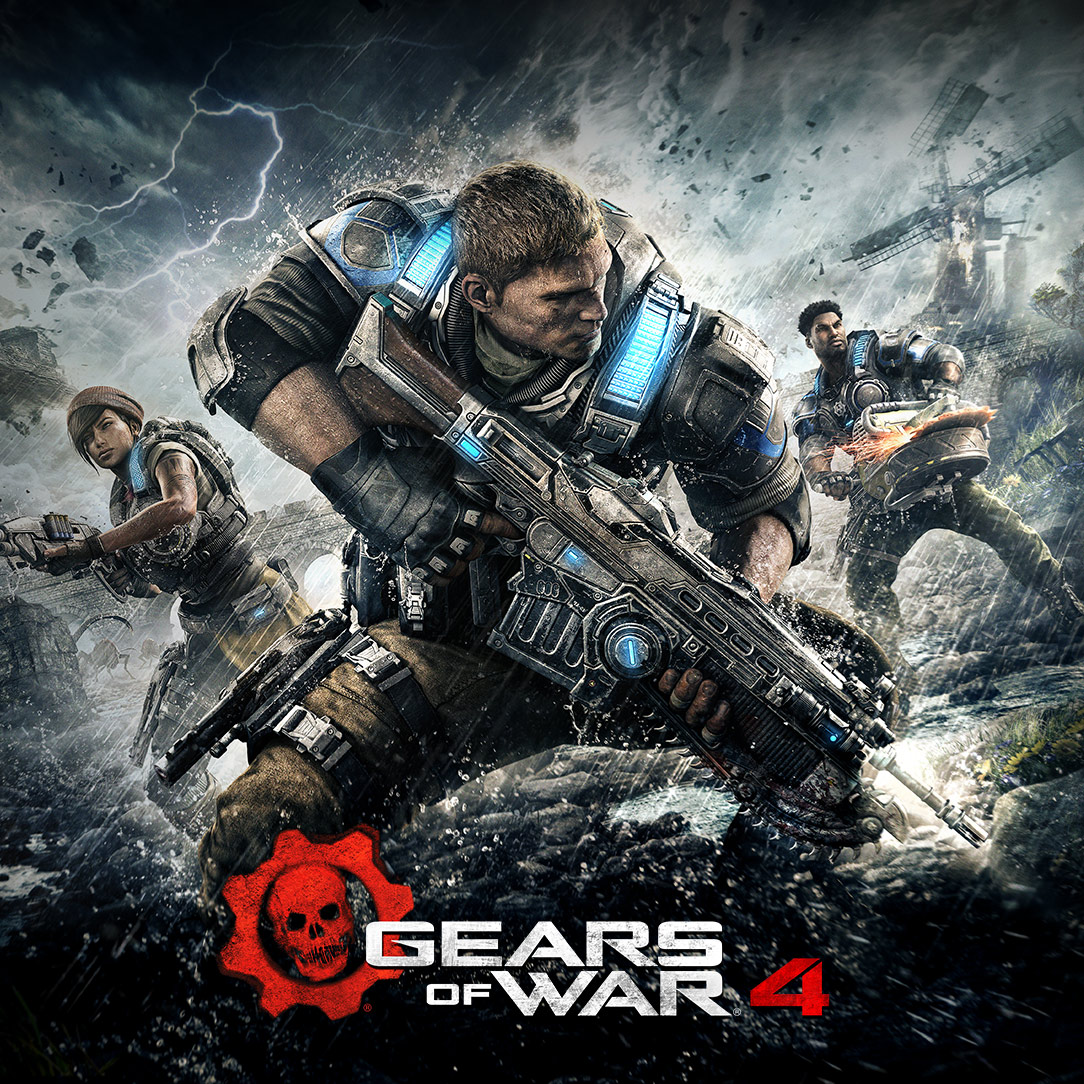 Gears of War 4 Xbox One/PC €2.29