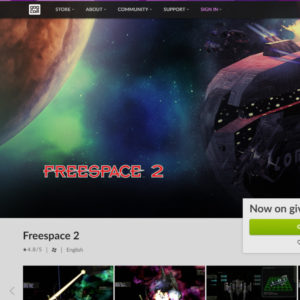 Freespace 2 is now FREE on GOG!