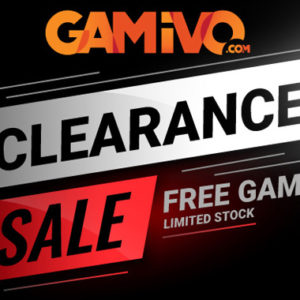 Get a FREE random Steam game on Gamivo!