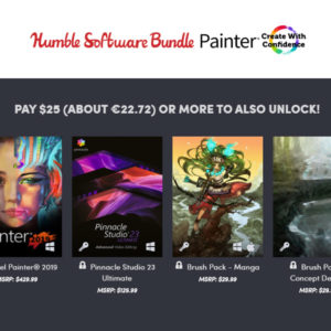 Now available! Humble Software Bundle: Painter – Create With Confidence