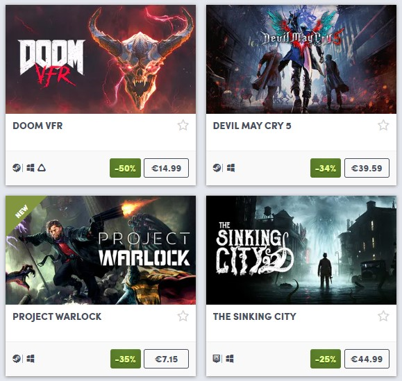 Demonic Weekend up on Humble Store!
