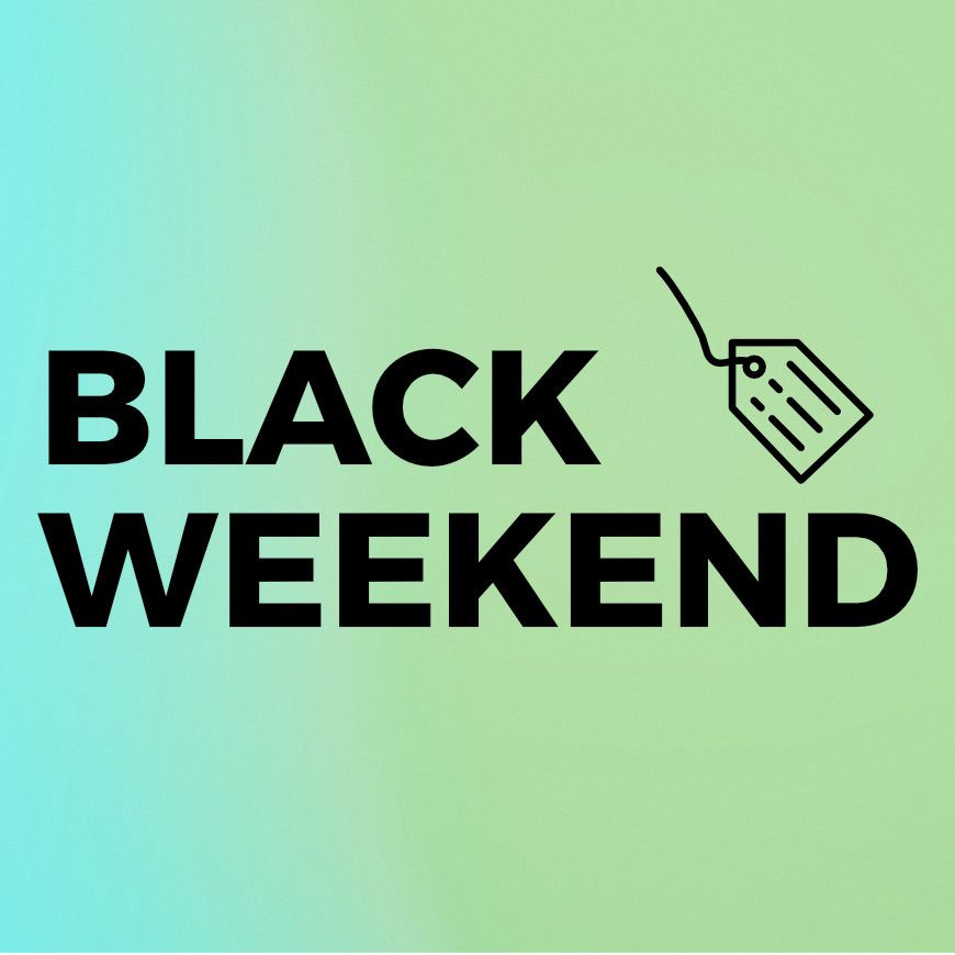 Couple of Black Weekend deals inside!