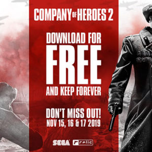 Company of Heroes 2 FREE on Steam!