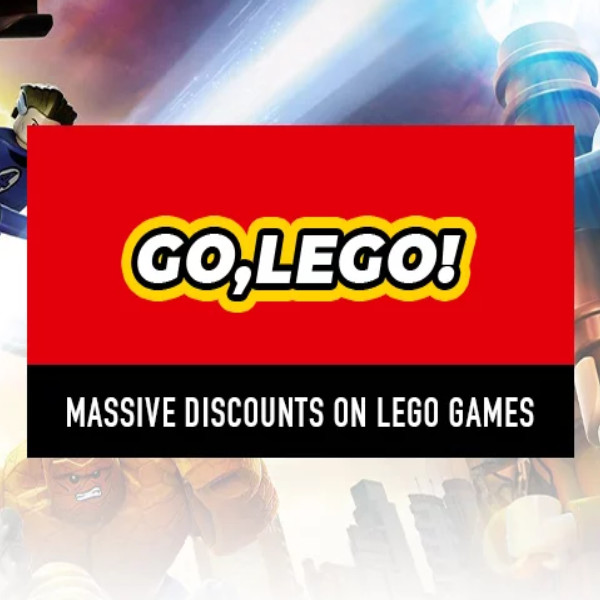 Massive discounts on LEGO games!