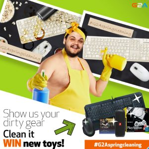 G2A Spring Cleaning contest now up! #G2Aspringcleaning