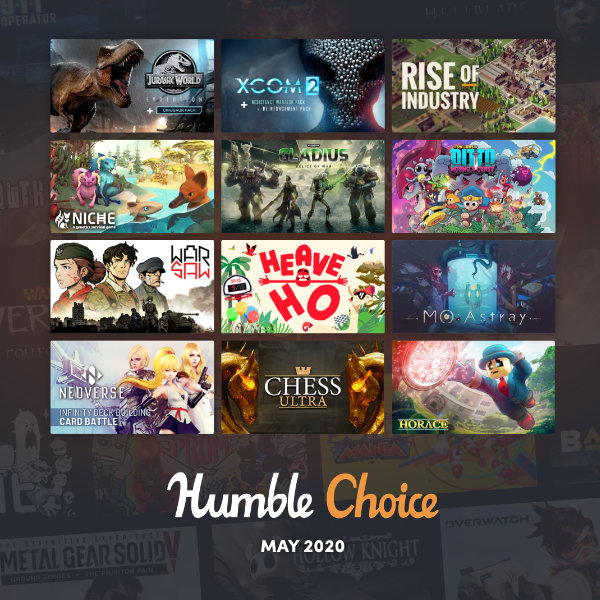 Read more about the article Humble Choice for May 2020 now available!