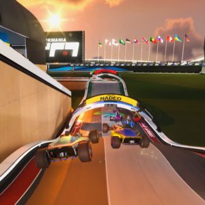 Trackmania and Hue now FREE on Epic Games!