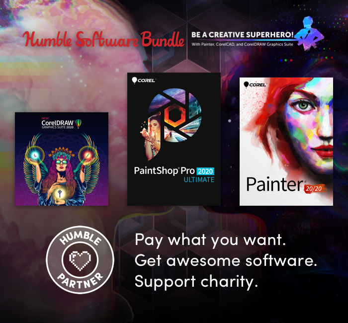 Humble Software Bundle: Be a Creative Superhero!