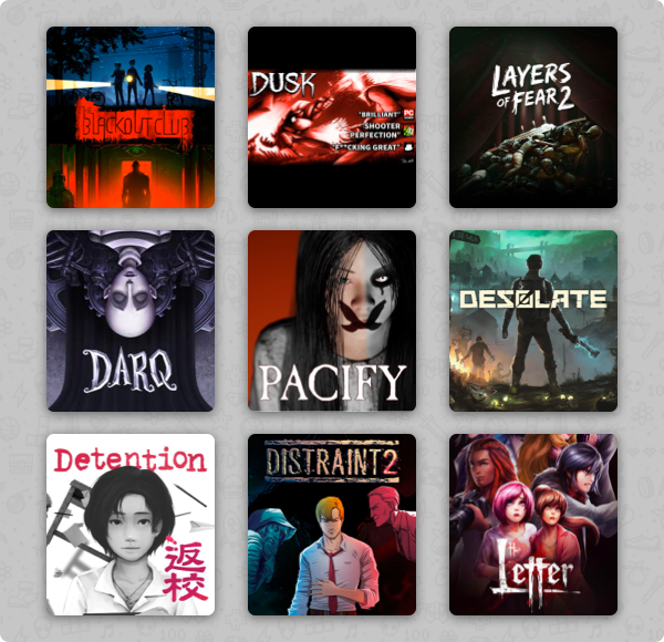 Humble Thrills and Chills Bundle now live! 🎃