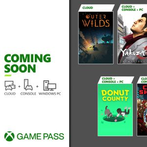 Xbox Game Pass: January 2021 update for Cloud, Console and PC