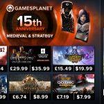GamesPlanet: 15th anniversary!